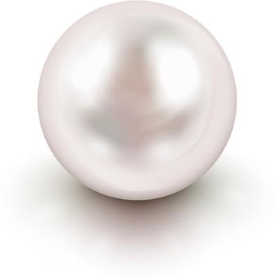 Malabar Gems 7.25 Ratti / 6.52 Carat Lab Certified (Moti) Pearl Stone at flipkart