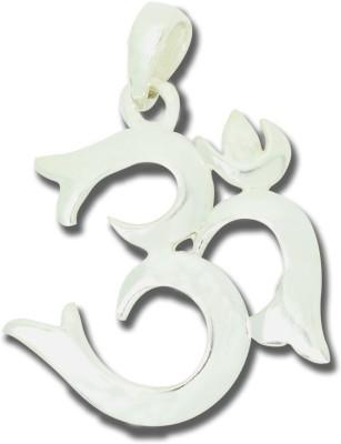 Frabjous Holy OM German Silver Alloy Pendant