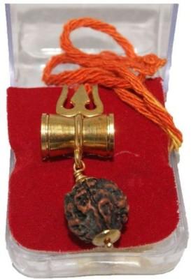 Vastughar SHIV SHAKTI KAWACH PENDANT WITH RUDRAKSHA Metal