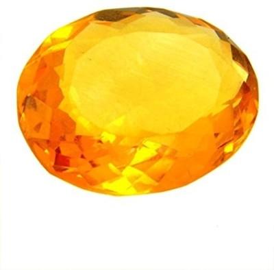 Malabar Gems Natural Yellow Topaz(Sunhela) 7.25 Ratti/ 6.52 Carat Certified Gemstone Topaz Stone at flipkart