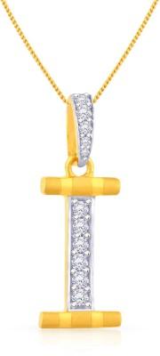 Malabar Gold and Diamonds PDEMALYA0009 22kt Cubic Zirconia Yellow Gold Pendant