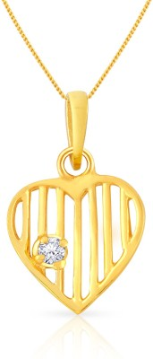 Malabar Gold and Diamonds PDSGHTYA0017 22kt Yellow Gold Pendant