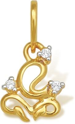 Nishtaa Yellow Gold Pendant