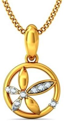 Gunjan Diamond Sunshine 18K Yellow Gold, Rhodium Diamond Gold