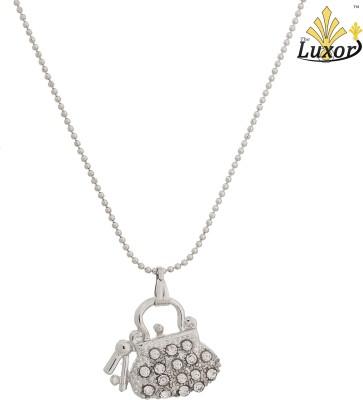 Luxor Fashionable Purse Shape Silver Plated Pendant Alloy