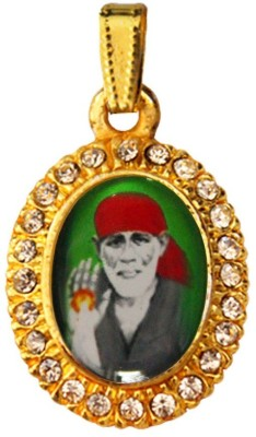 Rich & Famous Sai Baba Yellow Gold Alloy Pendant  available at flipkart for Rs.215