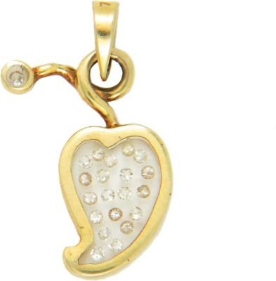 Popleys Love Forever 18kt Diamond Yellow Gold Pendant Popleys Pendants   Lockets