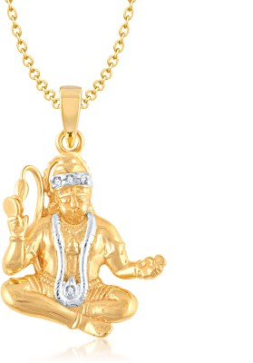 VK Jewels Gold-plated Alloy Pendant at flipkart