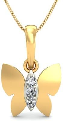 Belle Diamante 18kt Yellow Gold Pendant