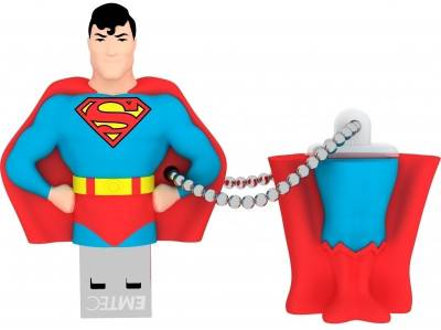 Emtec Super Heroes 3D superman 8 GB Pen Drive