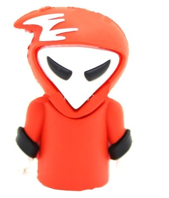 microware Ghost 16  GB Pen Drive Red microware Pen Drives