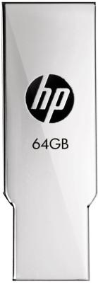 HP V237W 64  GB Pen Drive Silver HP Pen Drives