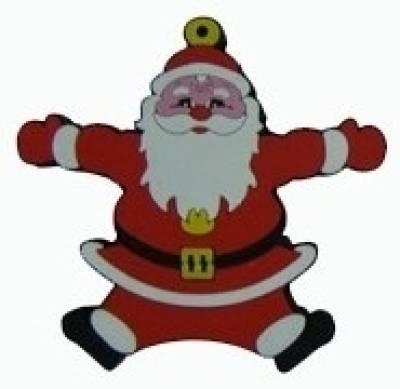 Microware Santa Claus Shape 4 GB Pen Drive Image
