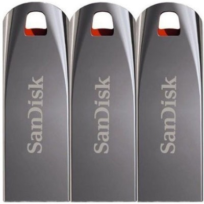 SanDisk Cruzer Force 16 GB Pen Drive(Silver)