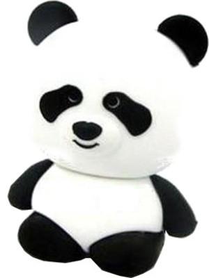 Microware-Panda-Shape-16GB-Pen-Drive-(Black-&-White)