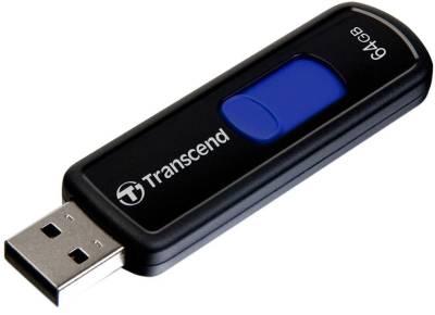Transcend JetFlash 500 64GB Pen Drive Image