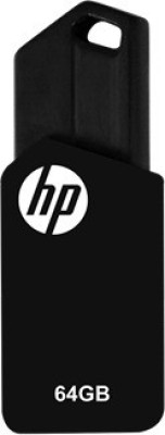 HP v150w 64GB 64 GB Pen Drive(Black) at flipkart