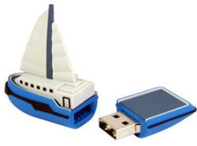 Microware Ship Boat Yacht Shape Designer 8 GB Pendrive Image