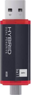 iball-Hybrid-Dual-8GB-Pendrive