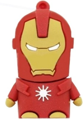 Microware Iron Man Shape 16  GB Pen Drive