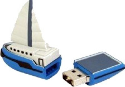 Microware-16GB-Boat-Yacht-Ship-Shape-Pen-Drive