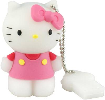 Microware Hello Kitty Shape Designer 8 GB Pen Drive Image
