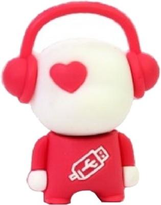 Microware Music Man Red Shape 16  GB Pen Drive Microware Pen Drives