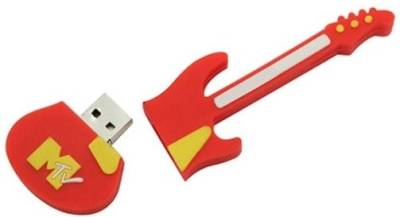 Microware Guitar Red Shape Designer 8 GB Pendrive Image