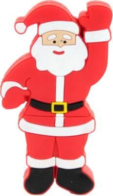 Microware 16GB Santa Claus Raising Hand Shape Pen Drive Image