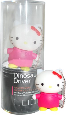 Dinosaur Drivers Miffy Red 16  GB Pen Drive Multicolor Dinosaur Drivers Pen Drives