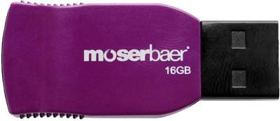 Moser Baer Racer 16 16 GB Pen Drive(Purple)