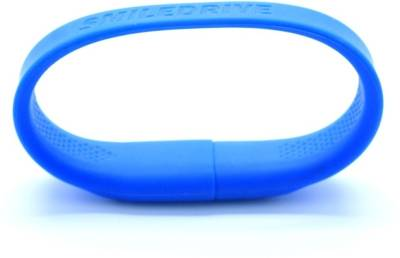 Smiledrive Super Fast USB 3.0 Wristband 32 GB  Pen Drive (Blue)