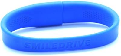 Smiledrive Super Fast USB 3.0 Wristband 32 GB  Pen Drive (Blue)