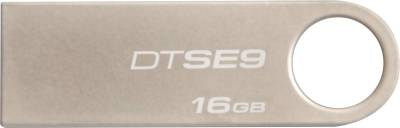 Kingston DataTraveler SE9 16 GB  Pen Drive (Silver)