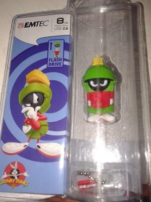 Emtec Looney Tunes Marvin Pendrive 8 GB Pen Drive(Green)