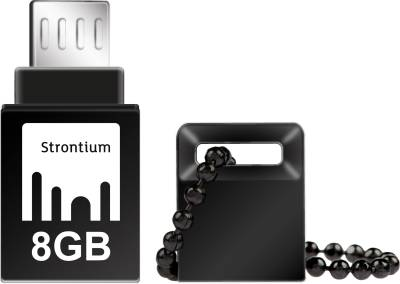 Strontium 32GB NITRO ON-THE-GO (OTG) USB 3.0 FLASH DRIVE 32 GB  Pen Drive (Black)