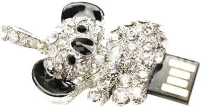 Microware Panda Shape Jewellery Designer Pen Drive 8 GB Image