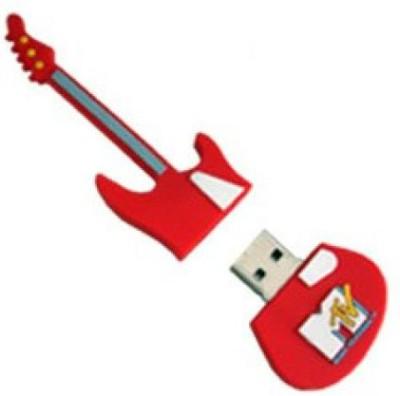 Microware-Guitar-Red-Shape-Designer-4-GB-Pendrive