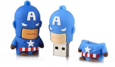 Dreambolic Captain America 4 GB Pen Drive