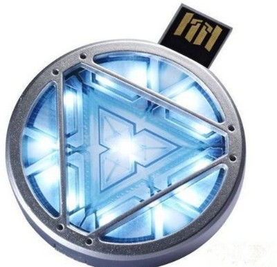 Quace Iron Man Energy Reactor 8 GB Pen Drive(Multicolor)  available at flipkart for Rs.699