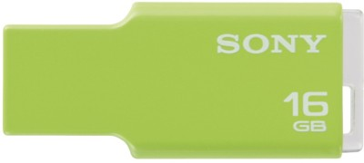 Sony Micro Vault Tiny 16 GB Pen Drive(Green) at flipkart