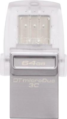 Kingston DTDUO3C/64  GBIN 64   GB OTG Drive