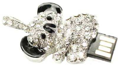 Microware Panda Shape Jewellery Designer Pen Drive 4 GB Pen Drive Image