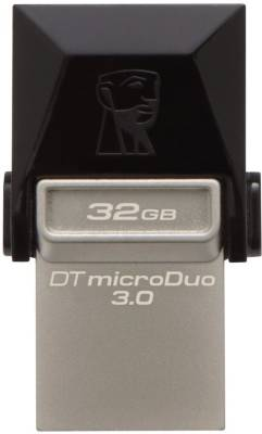 Kingston Data Traveler MicroDuo USB 3.0 32GB OTG Pen Drive Image