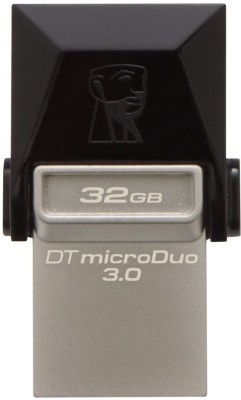 Kingston DataTraveler OTG 32 GB OTG Drive(Black, Type A to Micro USB) at flipkart