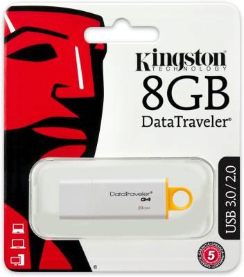 Kingston DataTraveler G4 8 GB Pen Drive Image