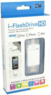IFlash Drive HD 32 GB  Pen Drive (White)
