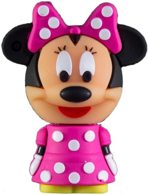 Zeztee Cartoon Character shape 16   GB OTG Drive Pink, Type A to Micro USB