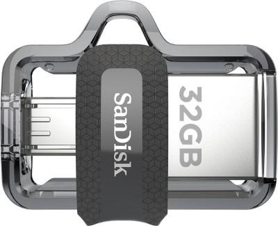 SanDisk Ultra Dual Drive M3.0 32 GB OTG Drive(Type A to Micro USB)