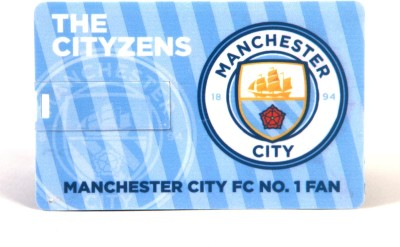 Manchester City F.C. Credit Card 8 GB OTG Drive(Multicolor, Type A to Type C) at flipkart